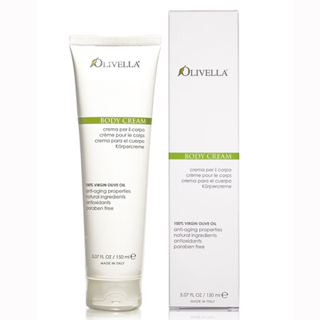 olivella olive oil body cream-100 pure virgin oil-body lotion-beauty products from italy-handbag.com
