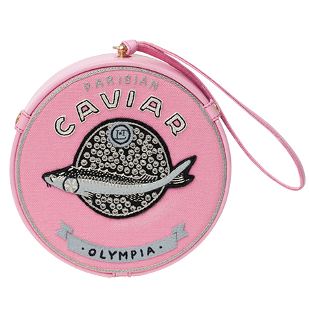 olympia le tan caviar clutch - bags that look like food - shopping bag - handbag