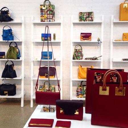 Sophie Hulme Resort 2015 Collection handbags - resort 2015 collections - best designer handbags - designer fashion - fashion news - handbag news - shopping bag - handbag.com