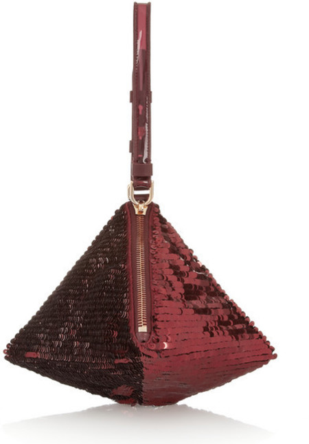 Givenchy pyramid bag - best red bags - shopping bag - handbag
