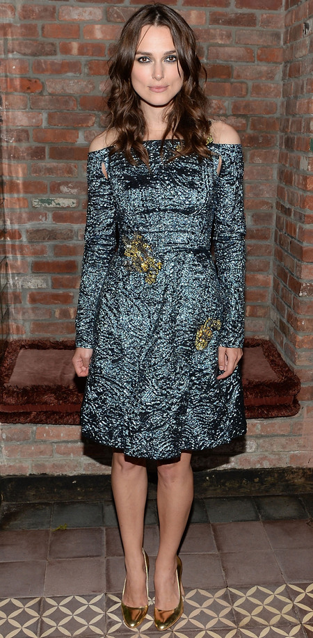 Keira Knightley at Begin Again afterparty
