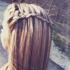 How to perfect the waterfall braid