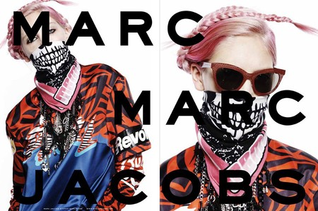 Marc Jacobs AW14 ad campaign featuring models from Instagram - new fashion adverts - Marc Jacobs new collection - fashion news - handbag.com