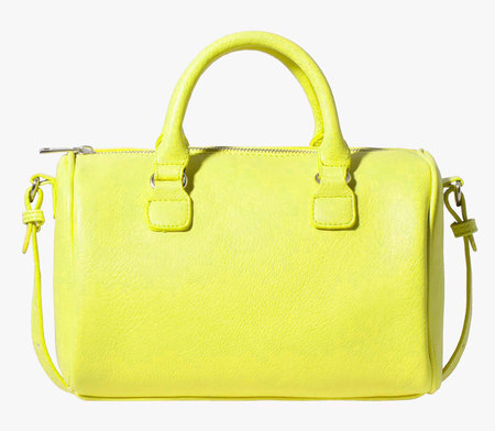 stradivarius yellow bowling bag - best yellow bags to buy now - shopping bag - handbag