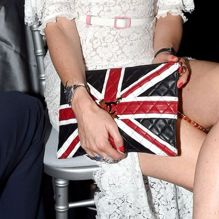 Amanda Cronin's Chanel Union Jack bag