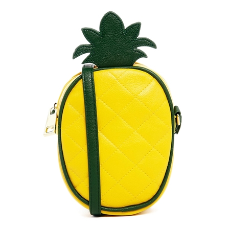 asos pineapple bag - best yellow bags to buy now - shopping bag - handbag