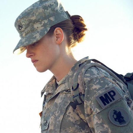 Kristen Stewart in the army for new film - image stills from new Kristen Stewart film - Kristen Stewart movie - film news - celebrity news - handbag.com