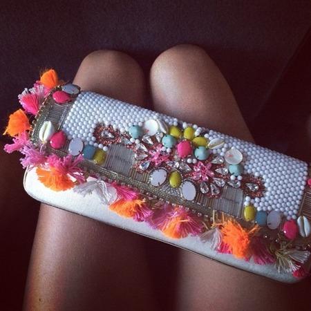 Millie Mackintosh's Accessorize clutch bag