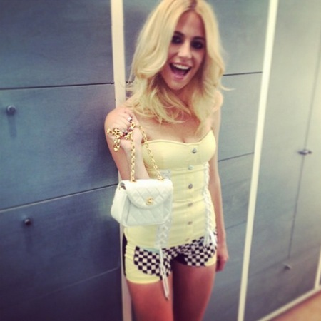 Pixie Lott's handbag collection