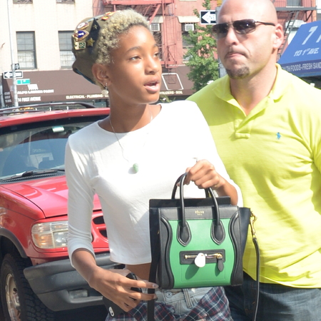 willow smith mini celine bag - teen celebs with amazing handbags - shopping bag - handbag