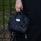 Cara Delevingne does the Mulberry double