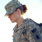 Kristen Stewart joins the army