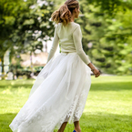 First look at Olivia Palermo's wedding dress