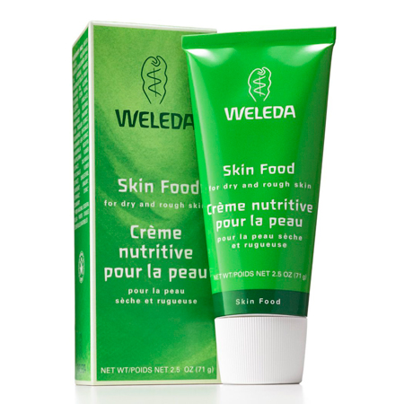 weleda-skin-food - best beauty products for eczema - beauty bag - handbag