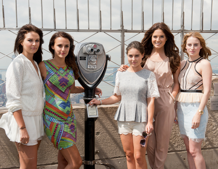 Made In Chelsea girls in New York - Riley Uggla, Lucy Watson, Louise Thompson, Binky Felstead, Rosie Fortescue - are lucy and binky friends again - handbag.com
