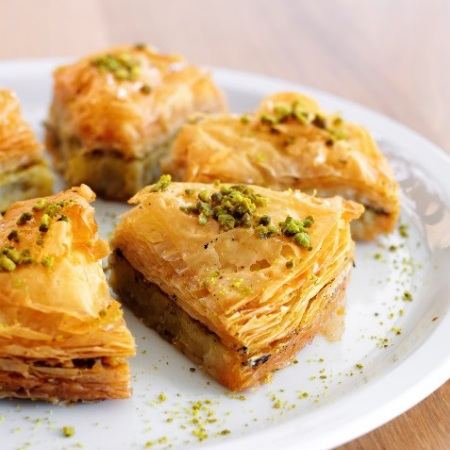 baklava recipe - kitchenette - day bag - handbag.com