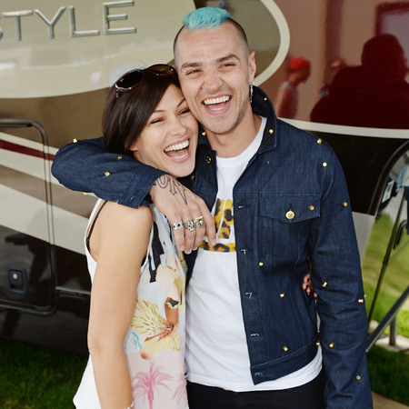 Emma Willis and Matt Willis - British Summer Time - hyde park - mcbusted - support - cute couple - handbag.com
