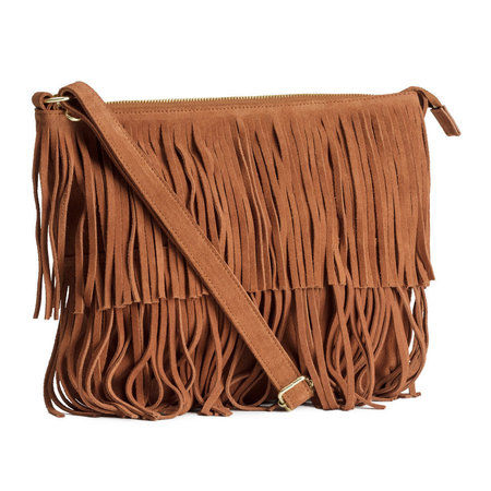 H&M fringed bag - best fringed bag if you can't afford a Gucci - shopping feature - shopping bag - handbag.com