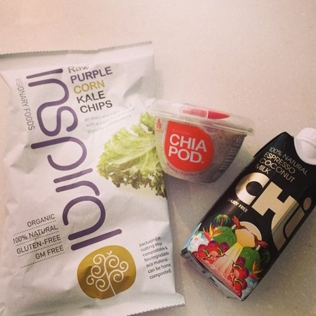 Millie Mackintosh - healthy snacks - kale crisps - chia yogurt - espresso coconut water - handbag.com