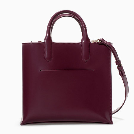 Zara - best bags under £40 if you can't  afford a Prada - shopping feature - shopping bag - handbag.com