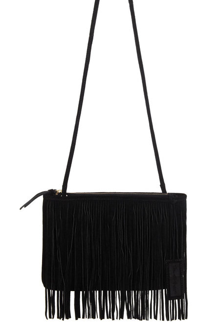 Miss Selfridge fringed bag - best fringed bag if you can't afford a Gucci - shopping feature - shopping bag - handbag.com