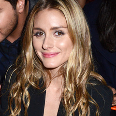 olivia palermo-blonde hair-highlights-paris haute couture fashion week-autumn winter 2014-front row style celebrities-handbag.com
