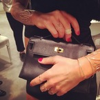 Anna Dello Russo's impressive bag collection