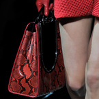 Armani champions the red trend