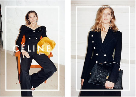 celine aw14 campaign - celine croc bag - shopping bag - handbag