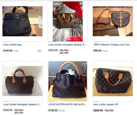 Cash ER How to buy a designer bag on eBay - louis vuitton handbags - day bag - handbag