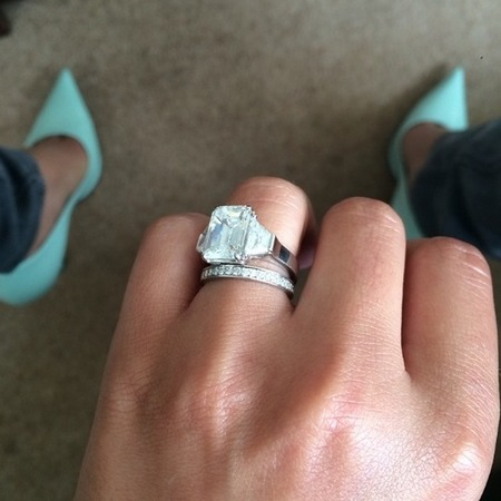 cheryl cole-wedding ring-married boyfriend Jean-Bernard Fernandez-Versini-celebrity engagement rings-handbag.com