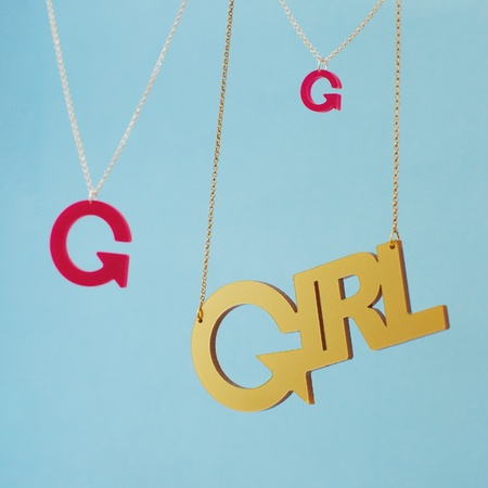 Girl effect necklace - tatty devine - competition win - handbag.com