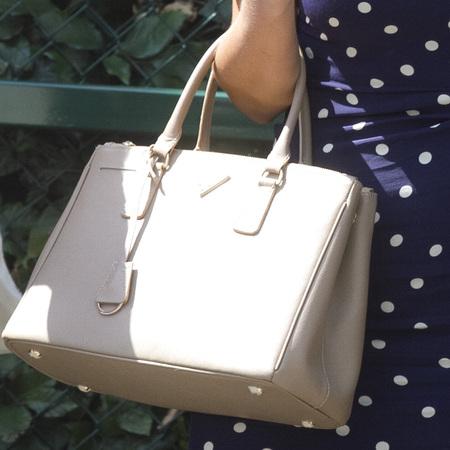 Katherine Jenkins's Prada bag