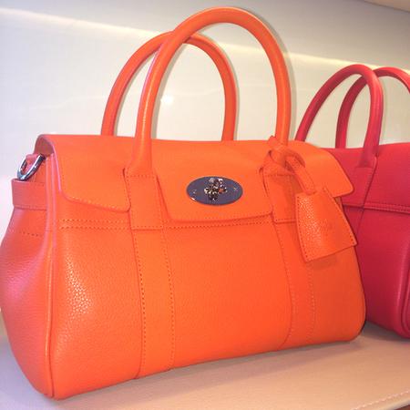 mulberry small bayswater bag-orange handbag-spring summer 2015-handbag
