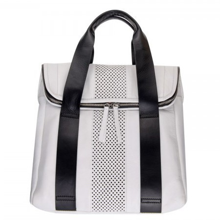 topshop aw14 bags - white backpack - shopping bag - handbag
