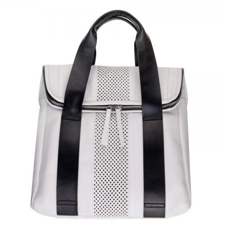topshop aw14 bags - white backpack - shopping bag - handbag