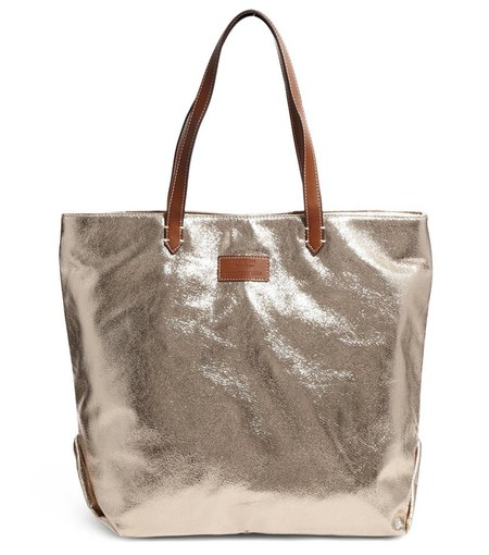 Mango metallic bag - best metallic bags - shopping feature - shopping bag - handbag.com