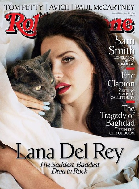 Is James Franco making Lana Del Rey crazy - lana del rey rolling stone magazine cover - day bag - handbag