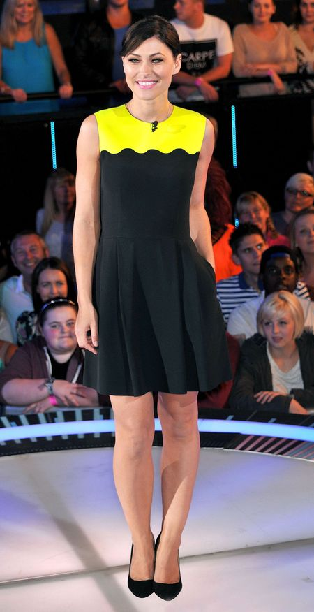 Yellow and black Johnathan Saunders dress