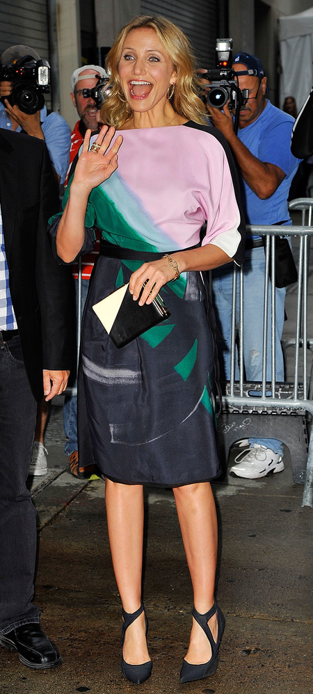 Cameron Diaz's best dressed highlights 2014
