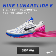 NIKE LUNARGLIDE 6: STAY LIGHT, GO LONG IN THE MOST STABLE LUNARGLIDE EVER