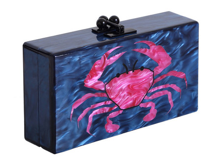 edie parker crab clutch - best nautical handbags - shopping bag - handbag