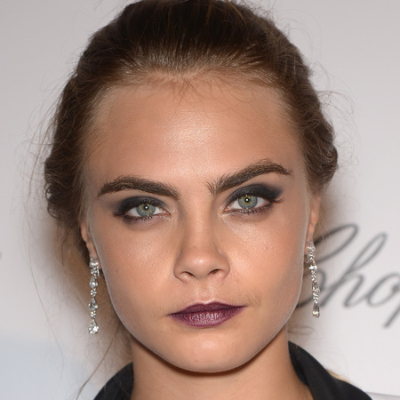 Celebrities doing the gothic glamour beauty trend