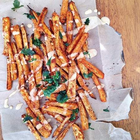 parsnip fries recipe - carb free meal and recipe ideas - carb free diets - Instagram food pictures - gym bag - handbag.com