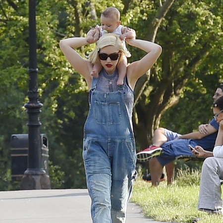 Celebrity Mums and their babies