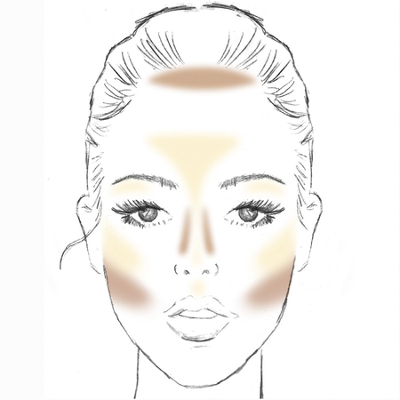how to do contouring-makeup tips-Makeup Artist Attracta Courtney-bourjois-make your face look thinner-handbag.com