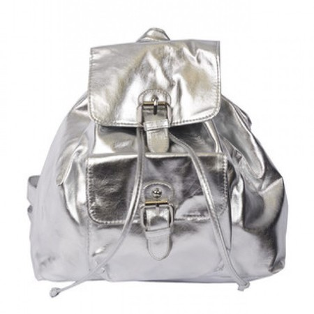 silver backpack- Shop the best handbags from Clueless - shopping bag - handbag
