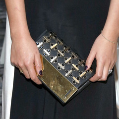 Chrissy Teigen clutch bag - handbagspy - july 2014 - shopping feature - shopping bag - handbag.com