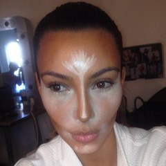 kim kardashian-contouring makeup-how to contour your face-handbag.com