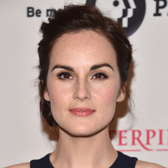 Michelle Dockery - best celebrity eyebrows - downton abbey photocall - handbag.com